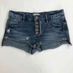 Free People Denim Jean Cut Off Size 24 (Act 30W)